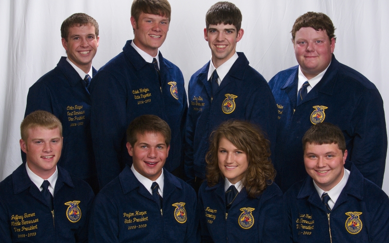 2008 to 2009 State Officers