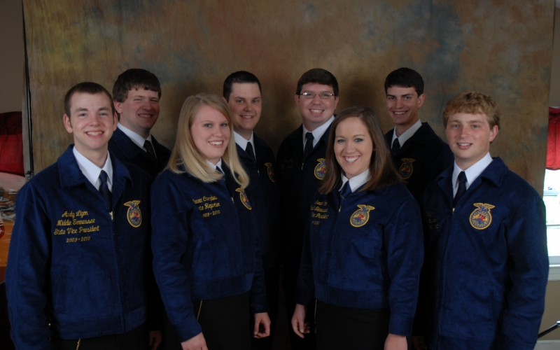 2009 to 2010 State Officers
