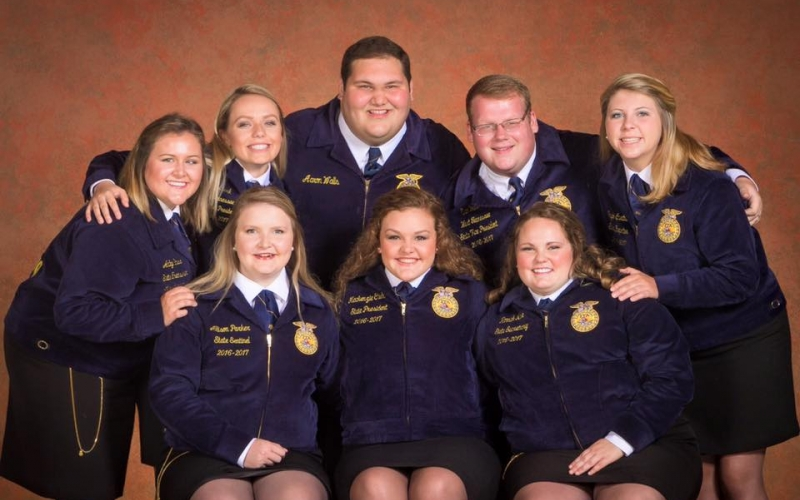 2016 to 2017 State Officers