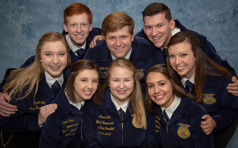 2018-2019 TN FFA State Officer Team