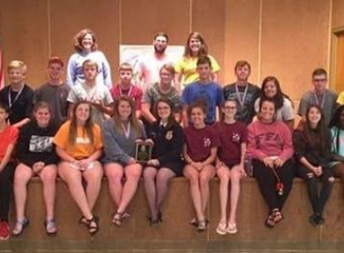 OAKLAND FFA WINS AT STATE FFA LEADERSHIP CAMP