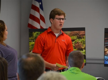 MEIGS COUNTY FFA MEMBER NAMED STATE STAR