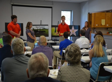 TENNESSEE FFA STARS VISIT COOKEVILLE ON THIRD ANNUAL STAR TOUR