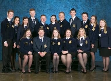 2019 State Officer Team