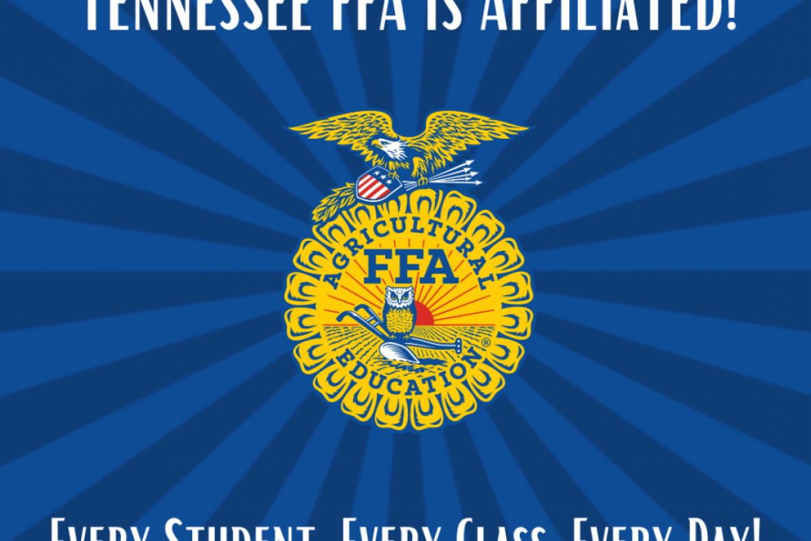 Tennessee FFA is now affiliated!
